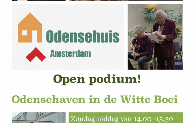 Open Podium Odensehaven in de Witte Boei
